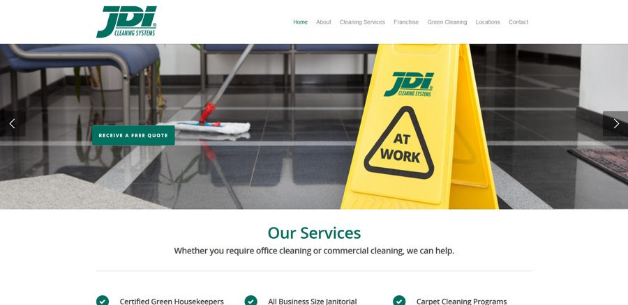 JDI Corporate Website
