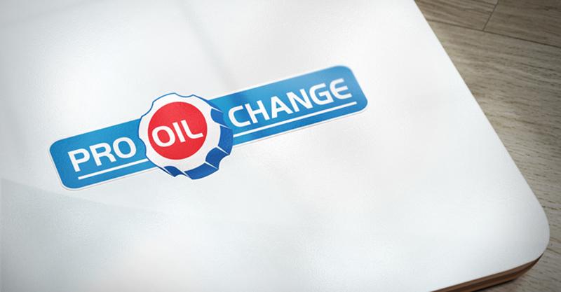 Pro Oil Change Logo