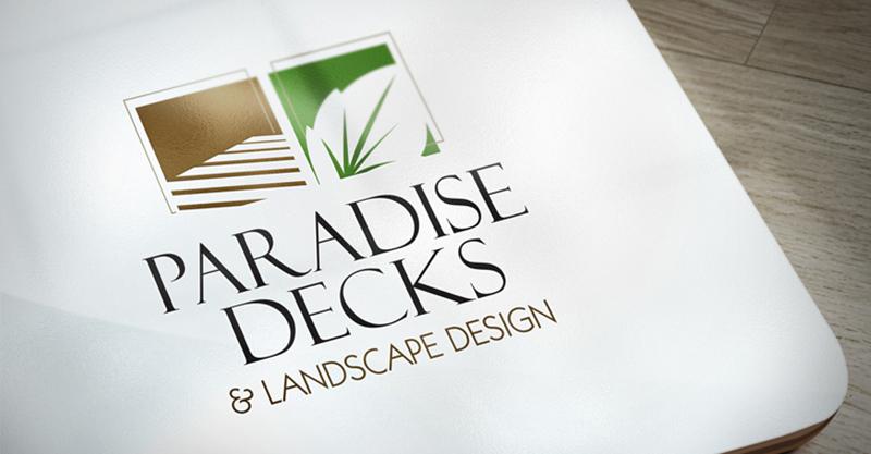 Paradise Decks Logo