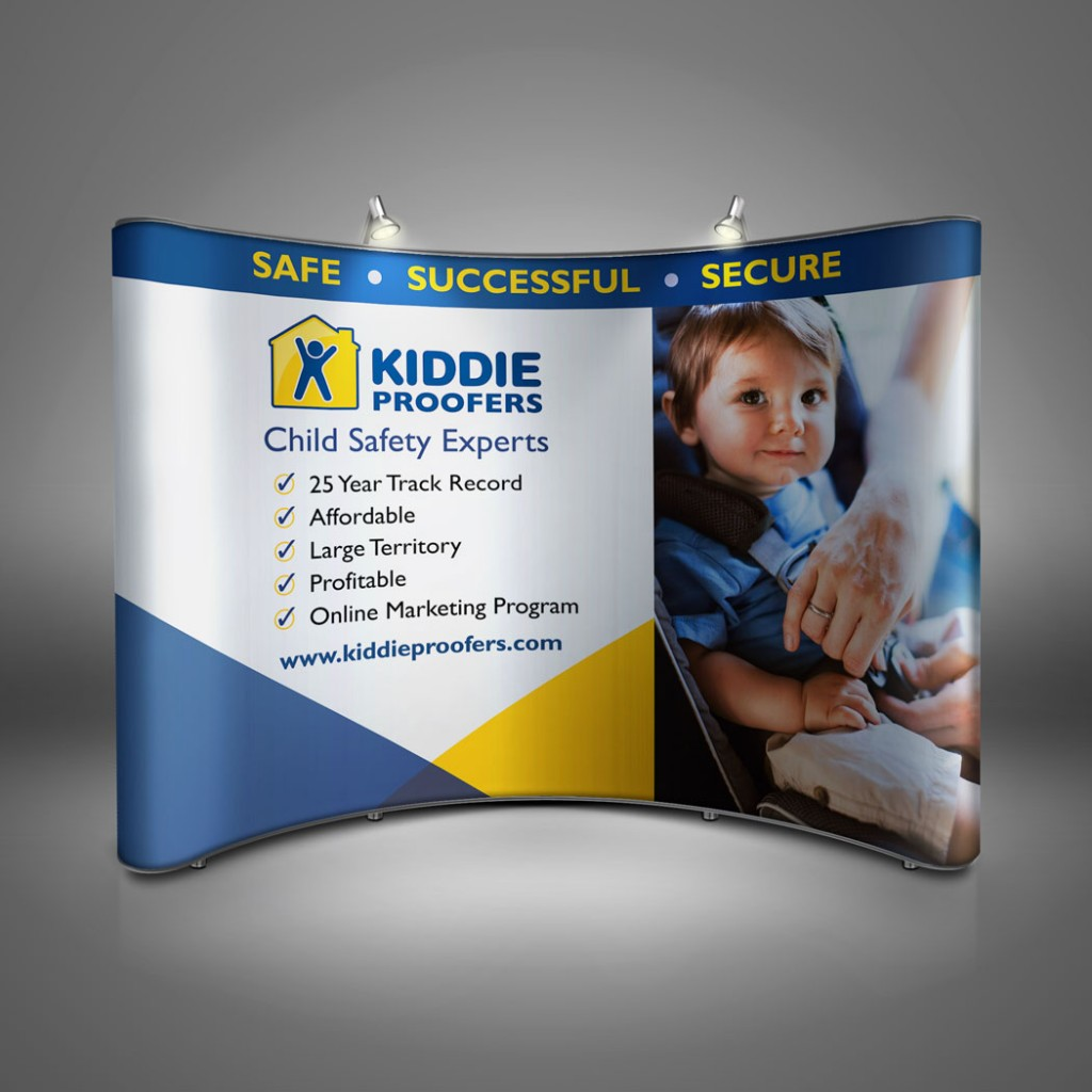 Kiddie Proofers Trade Show Booth